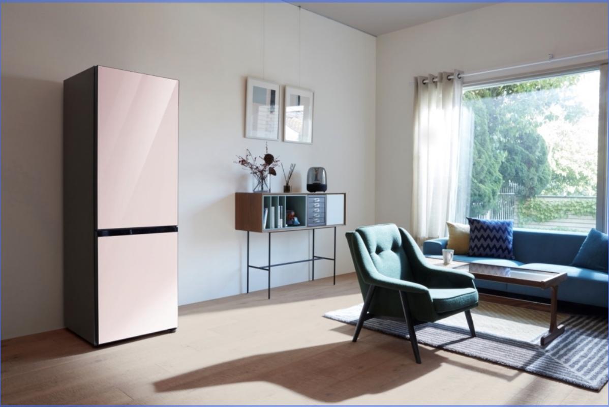 三星电子今天向全球发布可私人订制款冰箱