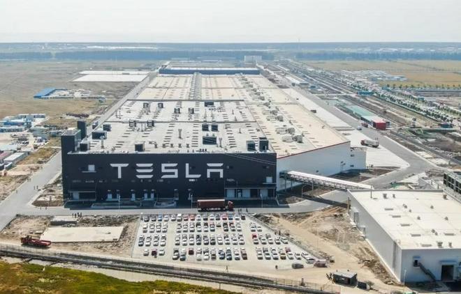 上海的超级工厂已升级为特斯拉汽车出口中心