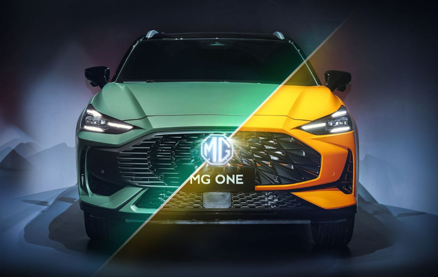 "MG ONE以""一体两面""的设计亮相"